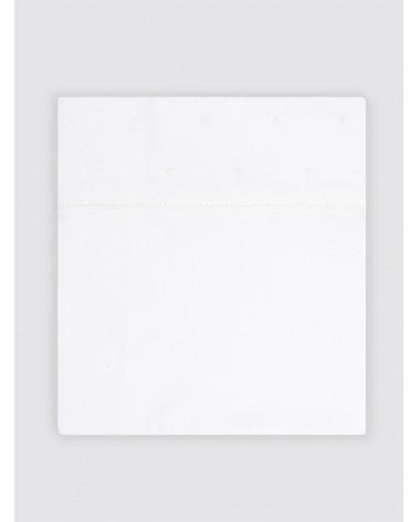 Juego Sábanas Bodoques Blancos Cama - 90x200cm