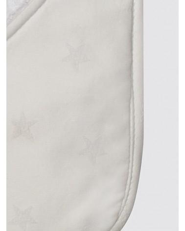 Toalla Mini Estrellas Blancas Piqué