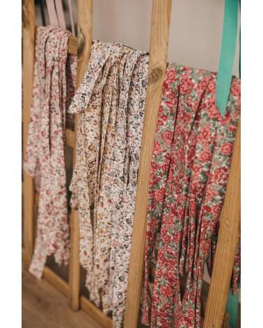 Cojín Antivuelco Piqué Estrellas Lazo Flores tienda nait nait