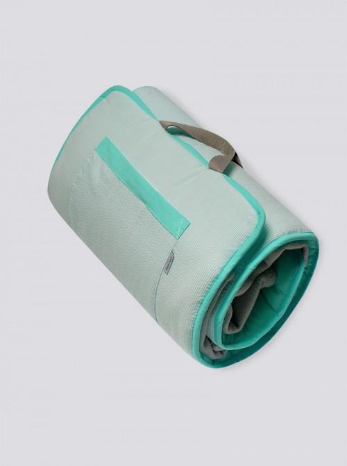 Siesta Roll Rayas Verdes
