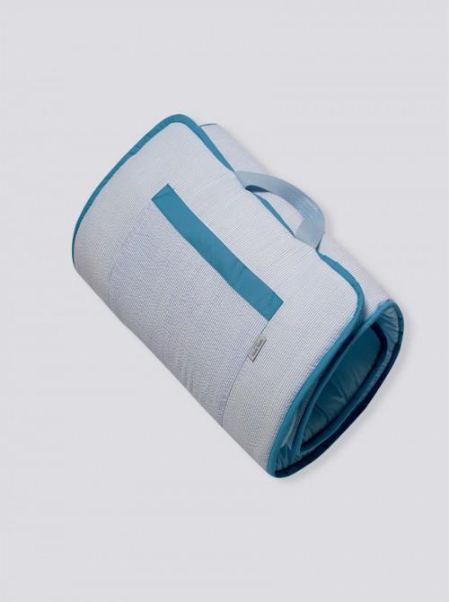 Siesta Roll Rayas Azules