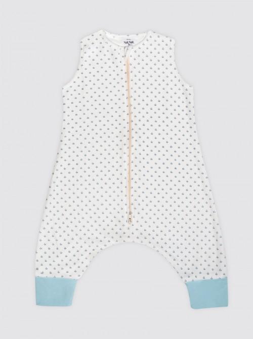 Pijama Burbuja Tulipanes Celestes