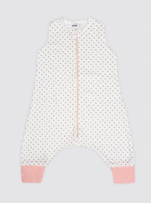 Pijama Burbuja Tulipanes Rosas