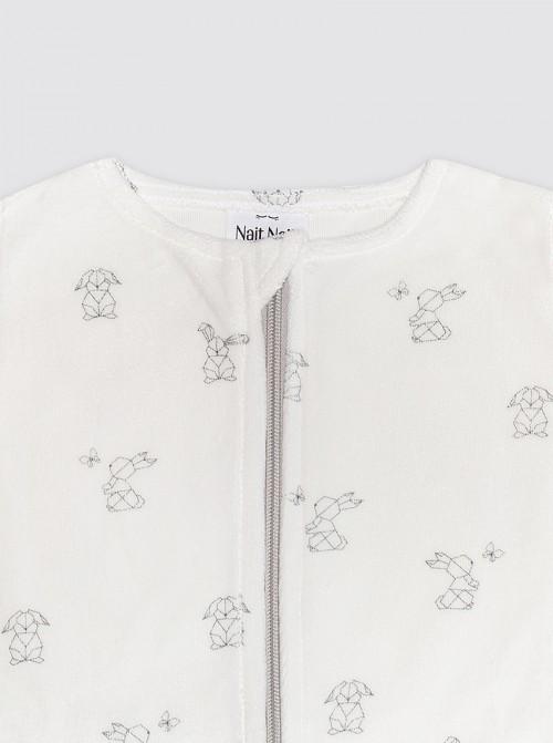 Pijama Burbuja con Mangas Conejo detalle