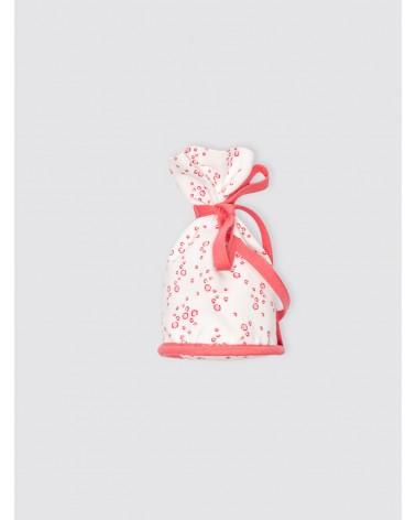Portachupetes Burbujas Rosa