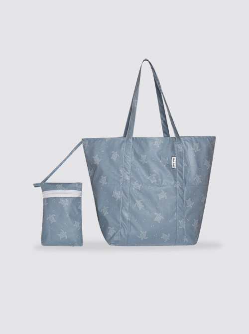 Bolsa de Playa Grande Tortugas Azul