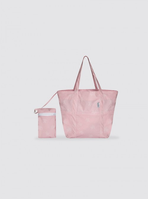 Bolsa de Playa Pequeña Tortugas Rosa