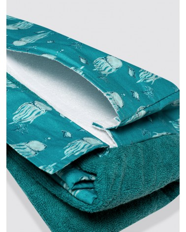 Playa Roll Maxi Medusas Verde