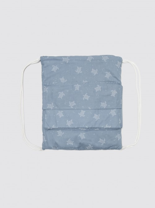 Playa Roll Bag Tortugas Azul