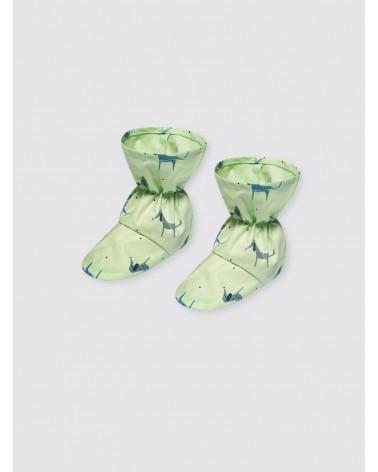 Escarpines Perritos Verde