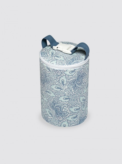 Bolsa Térmica Impermeable Cachemir Celeste