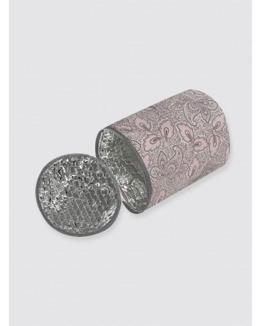 Bolsa Térmica Impermeable Cachemir Rosa y Gris