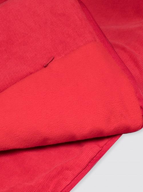 Funda con Saco Silla Ligera Pana Roja