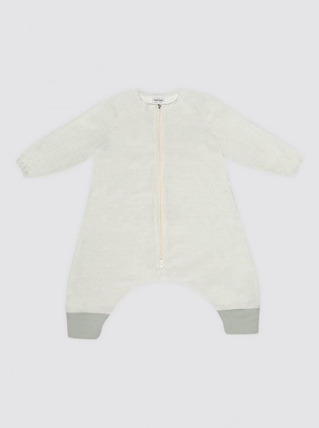 Pijama Burbuja Con Mangas Puntos Verdes