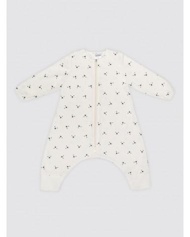Pijama Burbuja Con Mangas Osos Puntos Celestes