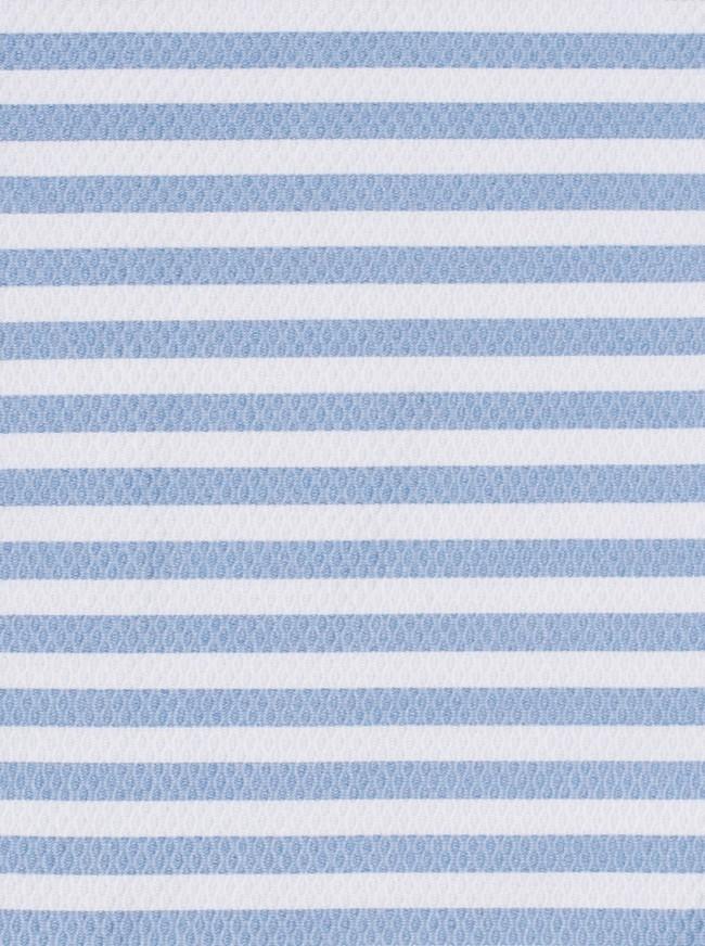 Bolsa para Mascarilla Piqué Rayas Azules