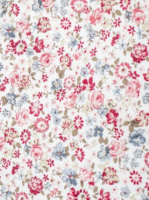 Toalla Mini Flor Liberty Rosa