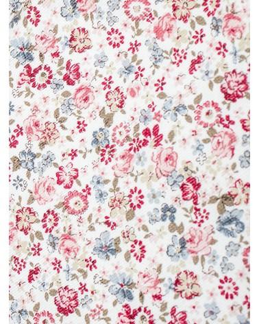 Toalla Lavabo Flor Liberty Rosa