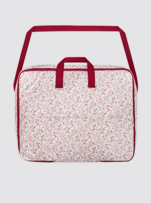 Bolsa Maternal Impermeable Liberty Rosa