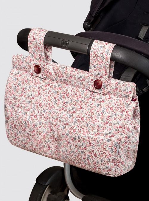 Bolsa de Carro Grande Impermeable Liberty Rosa