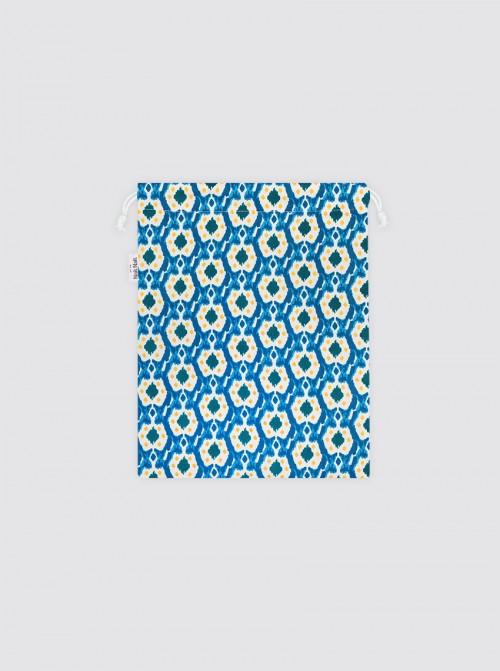 Bolsa para Mascarilla Ikats Azul