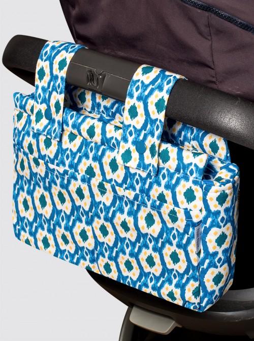 Bolsa de Carro Pequeña Ikats Azul