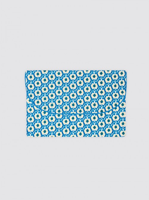 Bolsa de Ropa Pequeña Ikats Azul