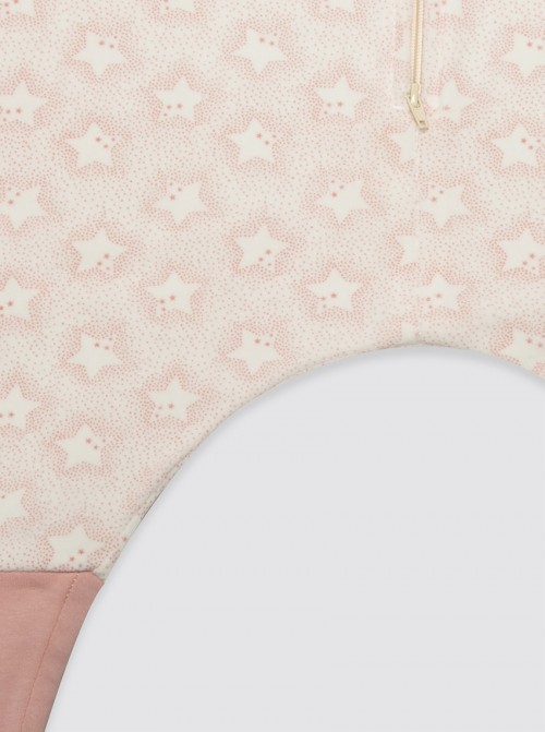 Pijama Burbuja Estrellas Maxi Rosa