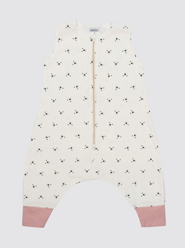 Pijama Burbuja Osos Puntos Rosas