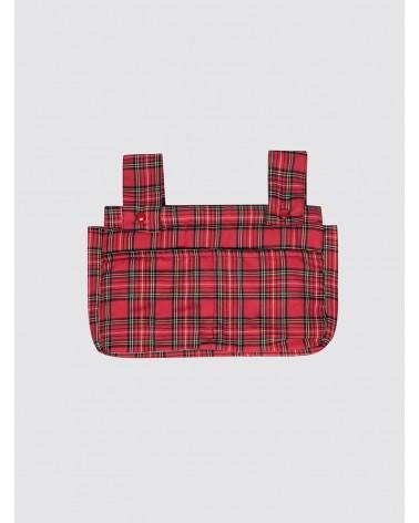 Bolsa de Carro Pequeña Balmoral Rojo