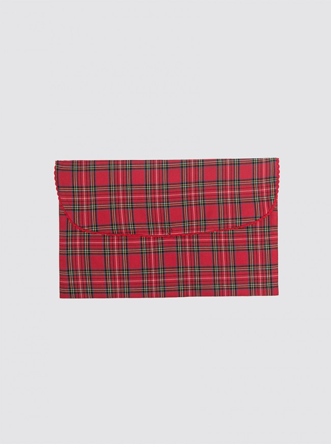 Bolsa de Ropa Pequeña Balmoral Rojo