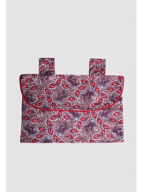 Bolsa de Pijama Cachemir Rojo