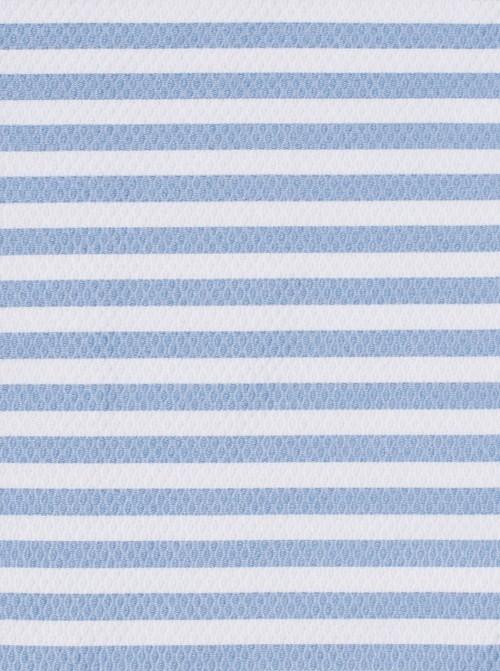 Funda con Saco Silla Ligera Piqué Rayas Azules